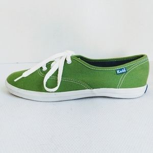 Keds Kelly Green Champion Sneakers Size 6.5